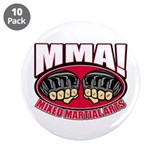 "MMA Mixed Martial Arts 3.5"" Button (10 pack)"