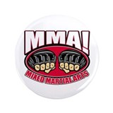 "MMA Mixed Martial Arts 3.5"" Button (100 pack)"