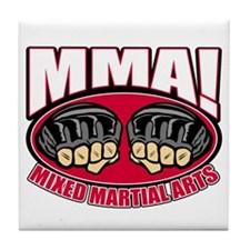 MMA Mixed Martial Arts Tile Coaster