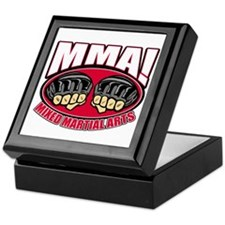 MMA Mixed Martial Arts Keepsake Box