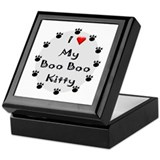 I Love My Boo Boo Kitty Keepsake Box