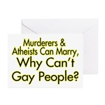 Why Can't Gay People Greeting Cards (Pk of 10)
