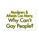 Why Can't Gay People Mini Poster Print