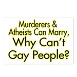 Why Can't Gay People Postcards (Package of 8)