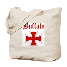 Buffalo (iron cross) Tote Bag