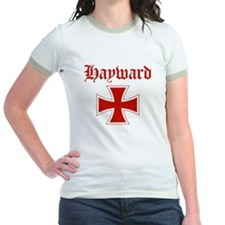 Hayward (iron cross) Jr. Ringer T-Shirt