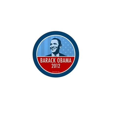Obama Faces Mini Button