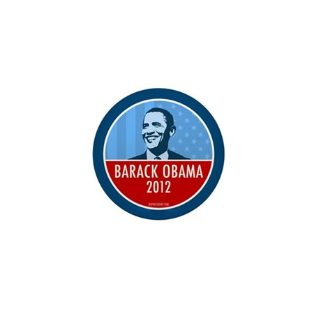 Obama Faces Mini Button (10 pack)