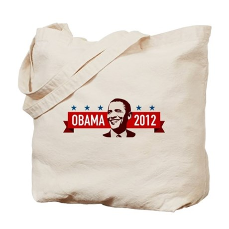 Obama Faces Tote Bag