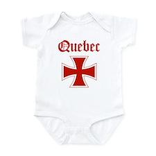Quebec (iron cross) Infant Bodysuit