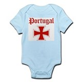 Portugal (iron cross) Infant Bodysuit