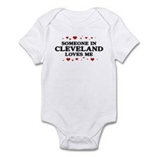 Loves Me in Cleveland Infant Bodysuit