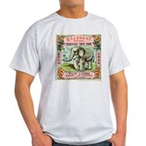 Elephant Firecrackers Ash Grey T-Shirt