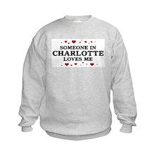 Loves Me in Charlotte Sweatshirt