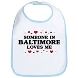 Loves Me in Baltimore Bib