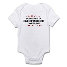 Loves Me in Baltimore Infant Bodysuit
