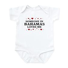 Loves Me in Bahamas Infant Bodysuit