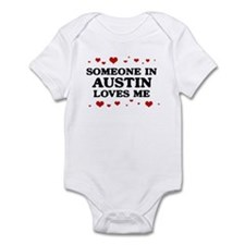 Loves Me in Austin Infant Bodysuit