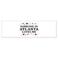 Loves Me in Atlanta Bumper Sticker (10 pk)