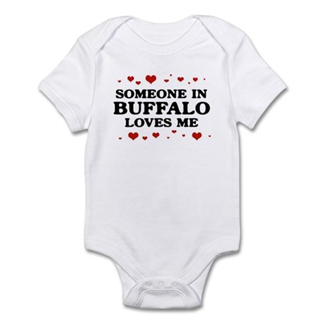 Loves Me in Buffalo Infant Bodysuit