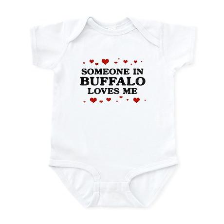 Loves Me in Buffalo Infant Bodysuit