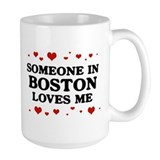 Loves Me in Boston Mug