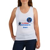 'Police Retirement Designs. Women's Tank Top