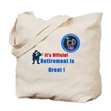 'Police Retirement Designs. Tote Bag