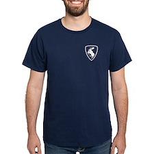 Prancing Moose T-Shirt, 3.5 inch moose