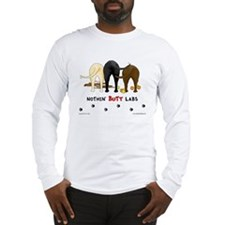 Labrador Butts with Sticks/Balls Long Sleeve T-Sh