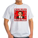 Merry Christmas Barack Obama T-Shirt