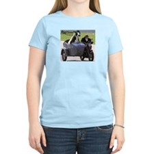 Cow in Sidecar T-Shirt