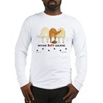Golden Butts with Duck Long Sleeve T-Shirt