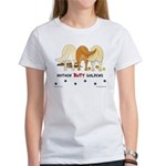 Golden Butts with Sticks/Balls Women's T-Shirt