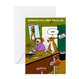 Seedy Bar in Ajo Greeting Card