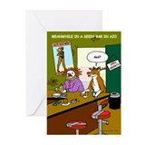 Seedy Bar in Ajo Greeting Cards (Pk of 10)