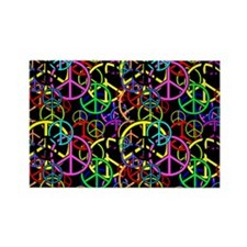 give peace a chance Rectangle Magnet (100 pack)