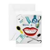 Dentists, Hygienists, Orthodo Greeting Card