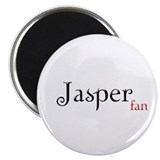 Twilight Jasper Fan Magnet