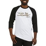 Scary Stories Twilight Quote Baseball Jersey