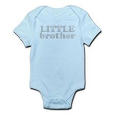 Funny Little sister big brother Infant Bodysuit