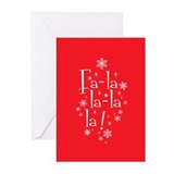 Fa la Greeting Cards
