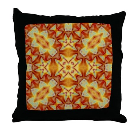 Emperor's Kaleidoscope II Throw Pillow