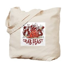 Crab Feast Tote Bag