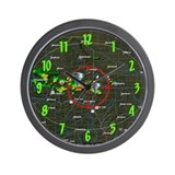 """Doppler Radar"" Wall Clock"