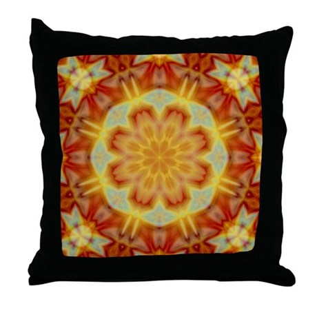 Emperor's Kaleidoscope III Throw Pillow