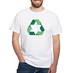 Green Jew White T-Shirt