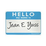 Jean E. Yuss Rectangle Magnet (10 pack)