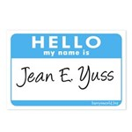 Jean E. Yuss Postcards (Package of 8)