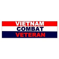 Bumper StickerVietnam Combat Veteran